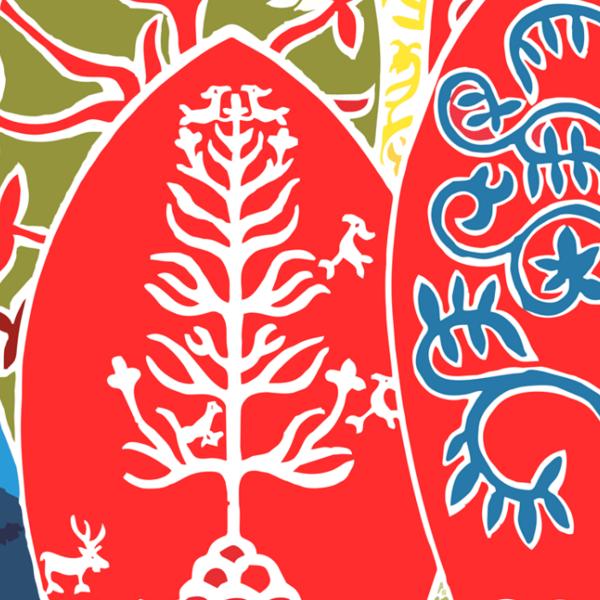 Онлайн-выставка плакатов «Эпосы народов России»