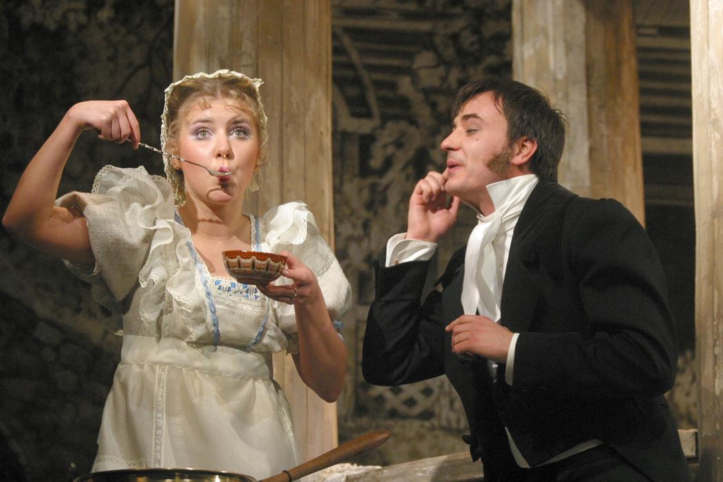Актеры малого театра свадьба