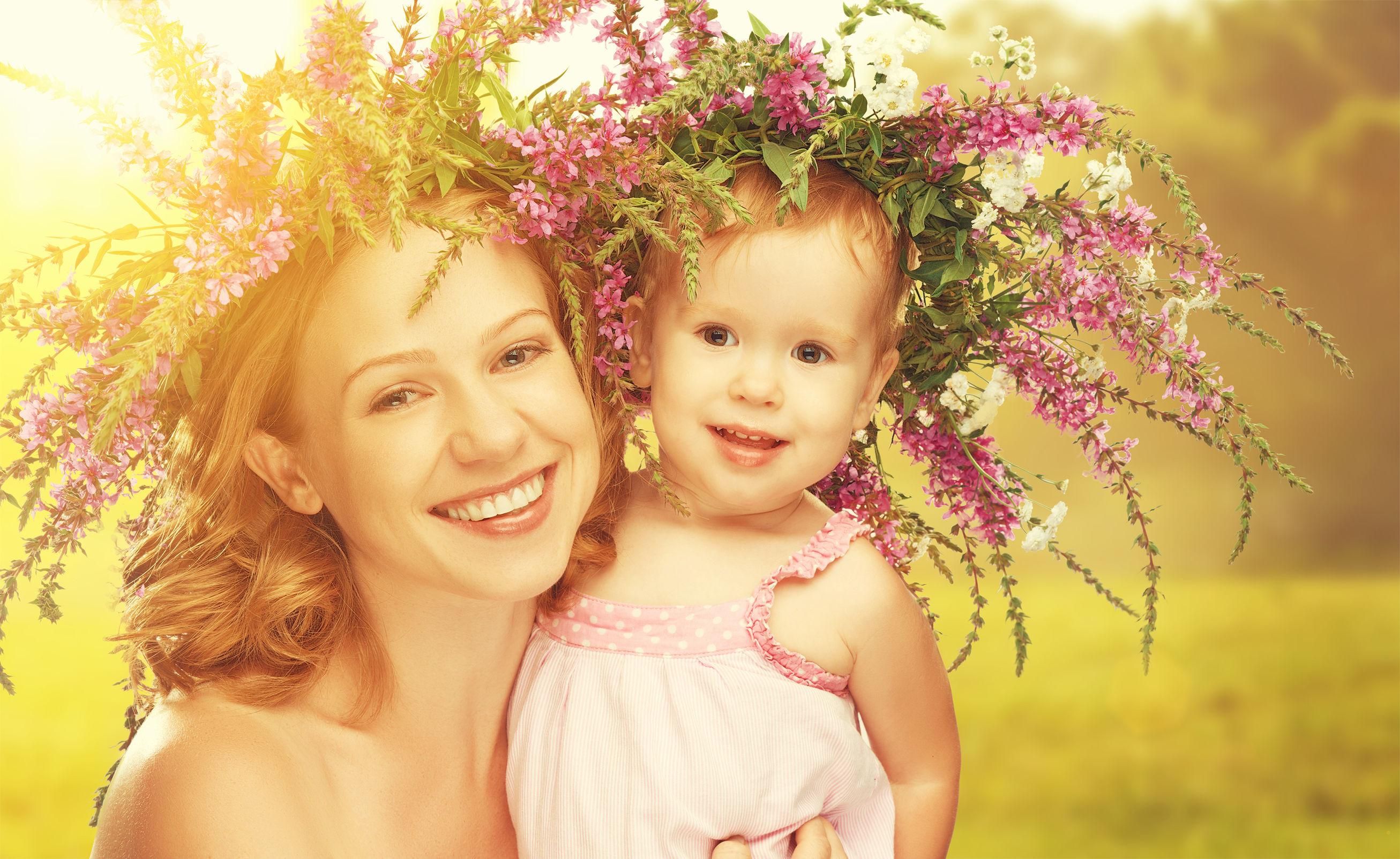 День матери нежные картинки, днем рождения