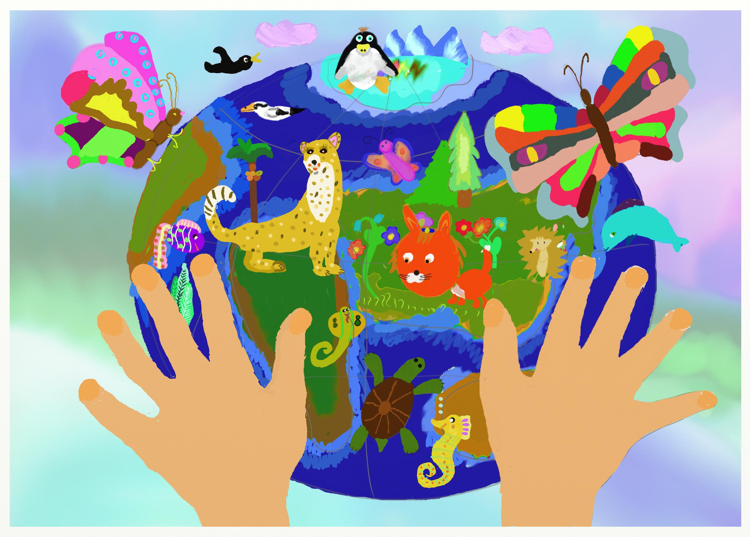 Окружающий мир в анимационных картинках