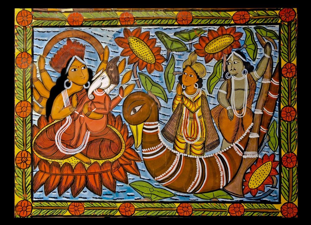 боги индии фото и описание
