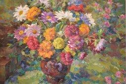 Открытие выставки «Цветы Григоряна»