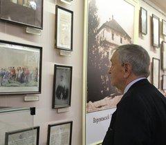 Выставка «На перекрёстке тысячелетий (125-летию ВОКМ посвящается...)»
