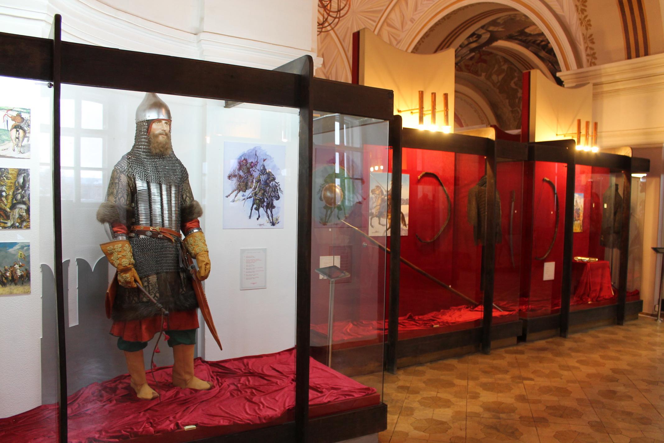 Тульский государственный музей оружия на территории Кремля