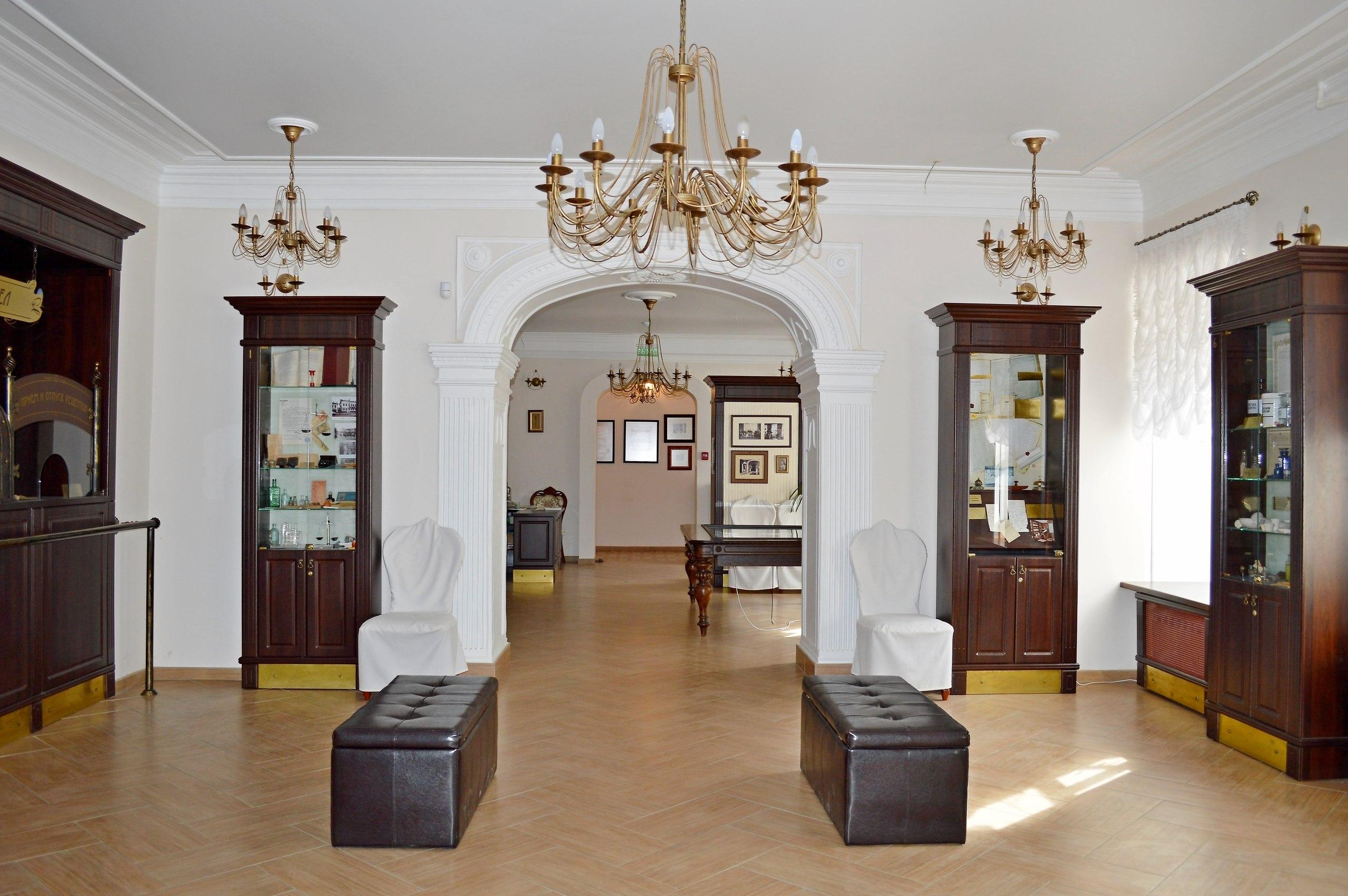 Постоянная экспозиция «Старая тульская аптека»