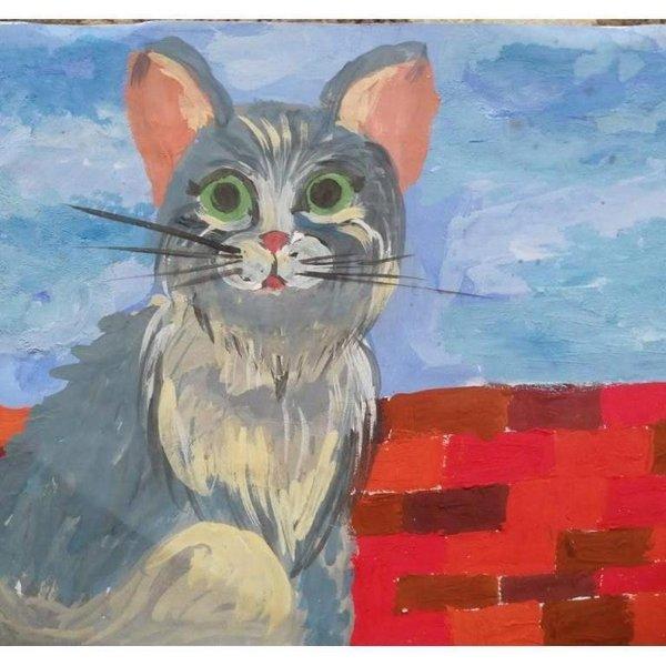 Мастер-класс «Кошка на крыше»