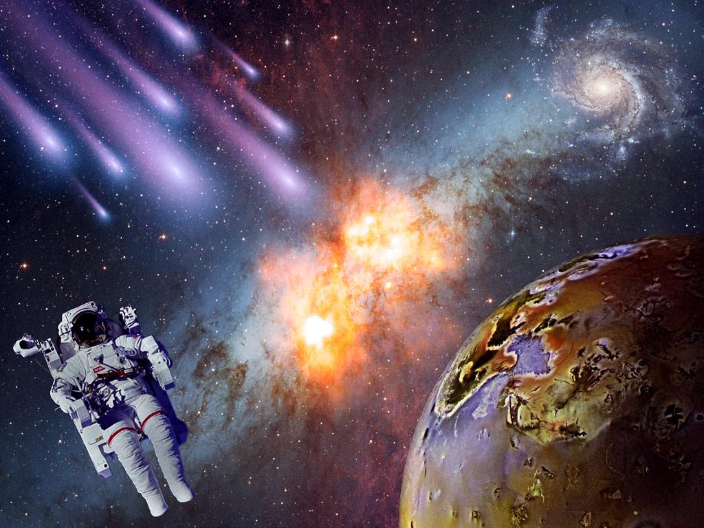 Картинки космоса планеты и космонавтах