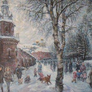 Выставка «Волшебные узоры зимы»