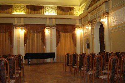 Актовый зал Самарского государственного института культуры