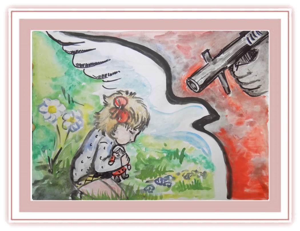 рисунки на тему терроризм что