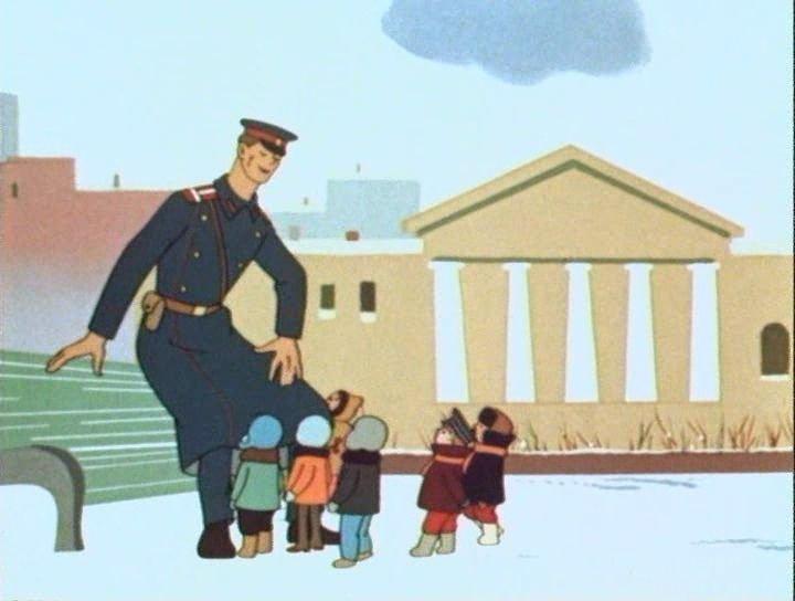 Милиционеры из мультфильмов картинки