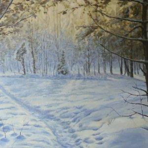 Художественная выставка «Зимушка-зима»