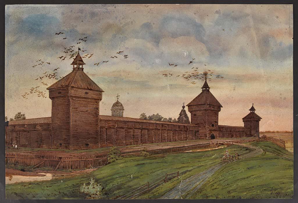 Картинки старорусская крепость