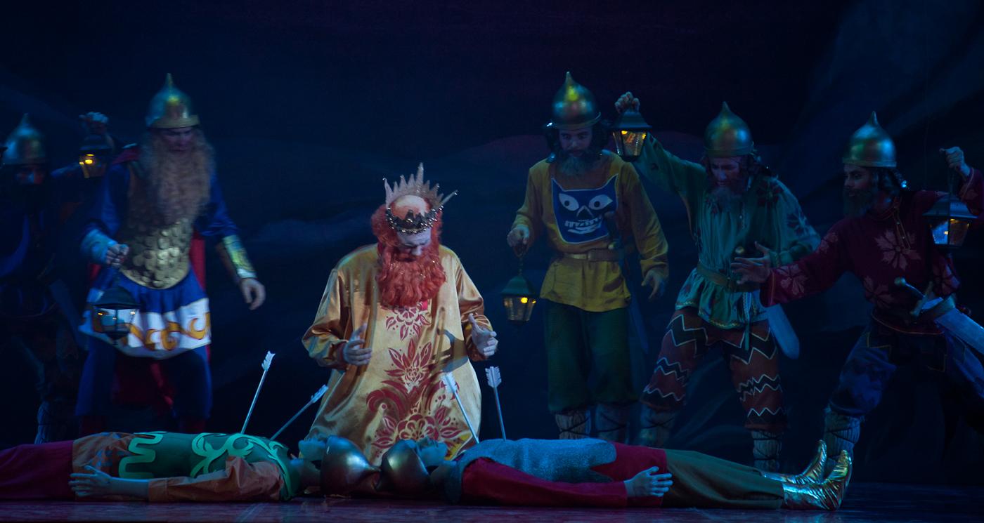 Картинки с оперы золотой петушок