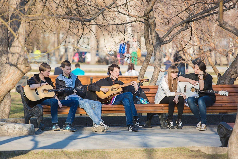 что картинки молодежь в парке хлопчатобумажная пряжа идеальный