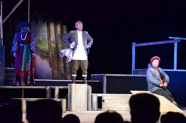 Драмой «Синяя-синяя речка» завершился театральный сезон