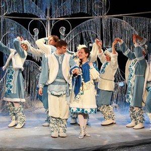Спектакль «Сказка о заколдованной Снегурочке»