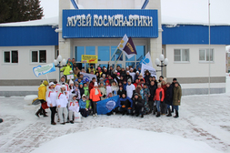 Республиканский спортивный фестиваль Советов работающей молодежи Чувашской Республики «Снежный десант»