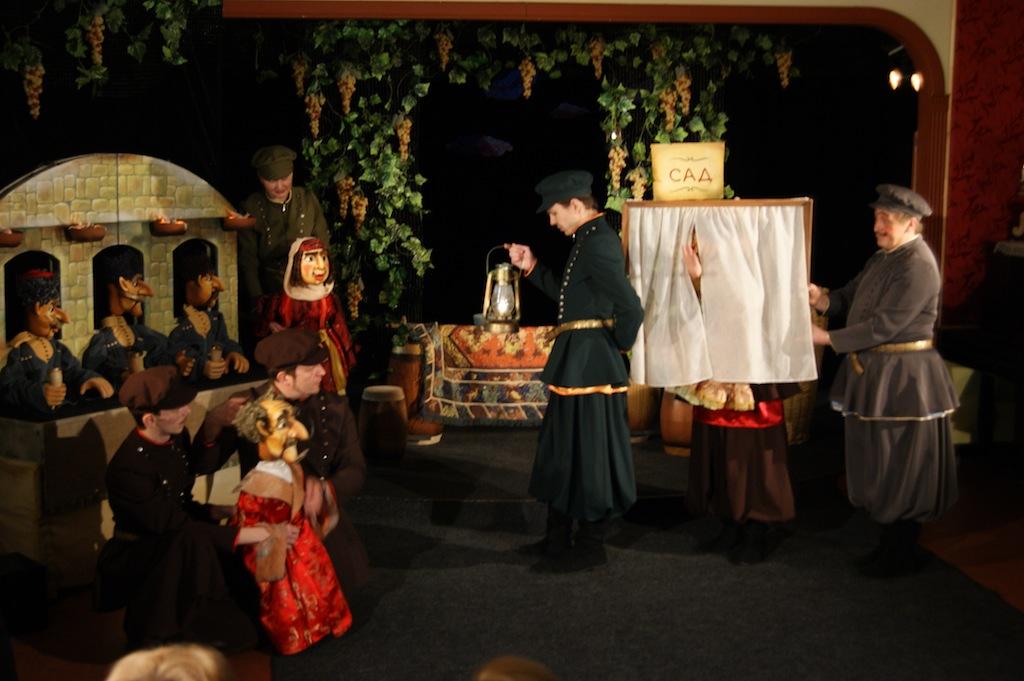 Вологодский областной театр кукол. Малая сцена.