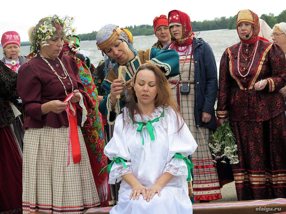 "На петрозаводской ""калакунде"" покажут свадьбу карелов-людико."