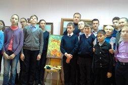«Живой урок» по живописи для обучающихся с ограниченными возможностями здоровья