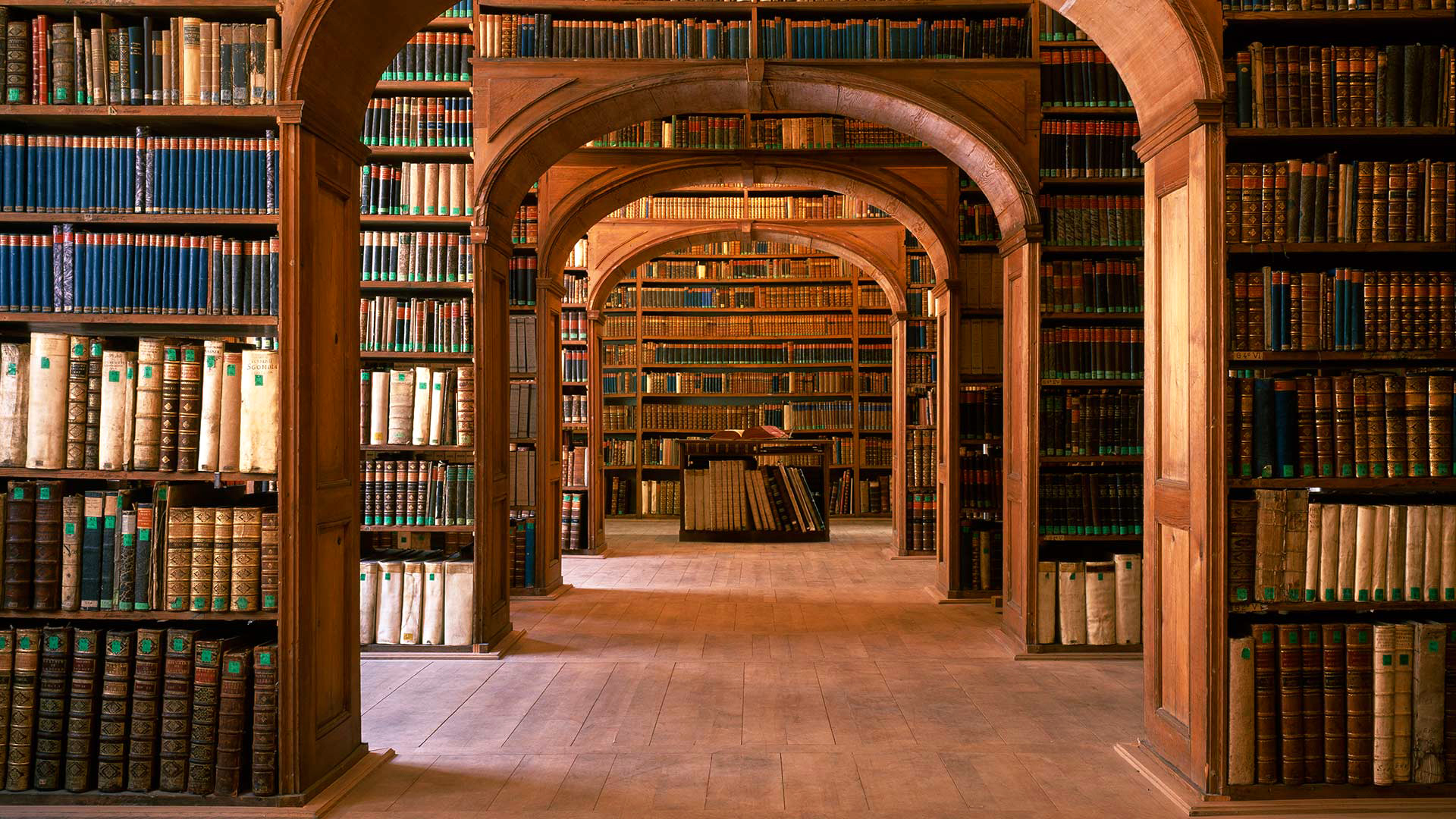 Старая библиотека на телефон